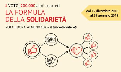 Vota AISA Lombardia Concorso Il Mio Dono Unicredit