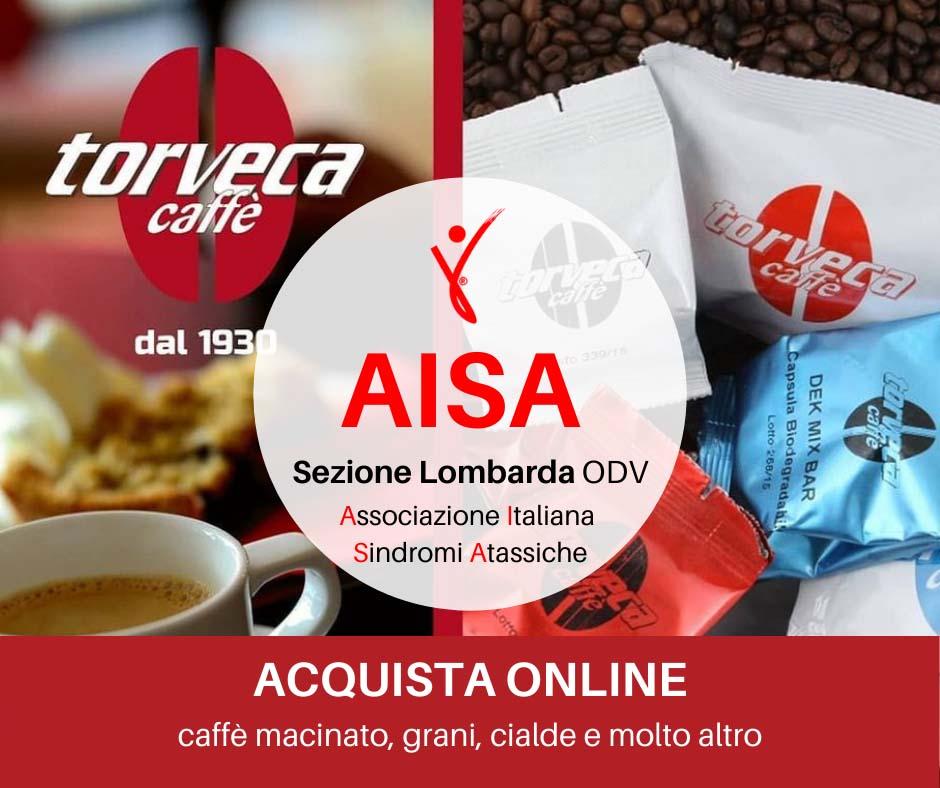 Aisa Lombarda ODV convenzione Torrefazione Vigevano Torveca